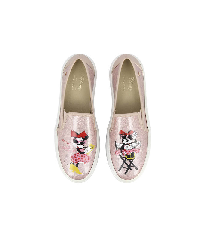 W Capsule Tenis Minnie Mouse con plataforma Mujer, MULTICOLOR, large