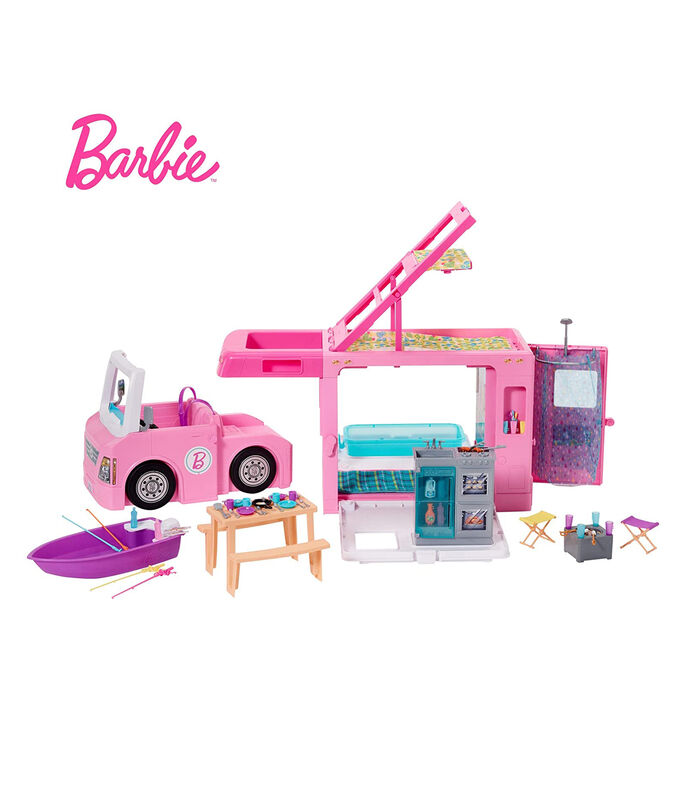 Barbie Camper 3 en 1, , large