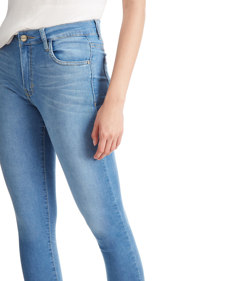 Jeans Skinny Mujer, AZUL MEDIO, editorial