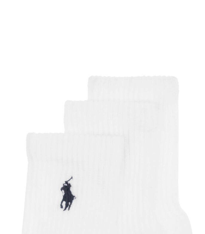 Set 6 Calcetines, BLANCO, large