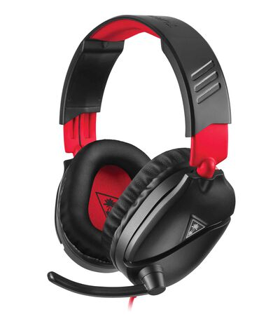 Audífonos Gaming Nintendo Switch Turtle Beach Recon 70 Rojo, Negro, , large