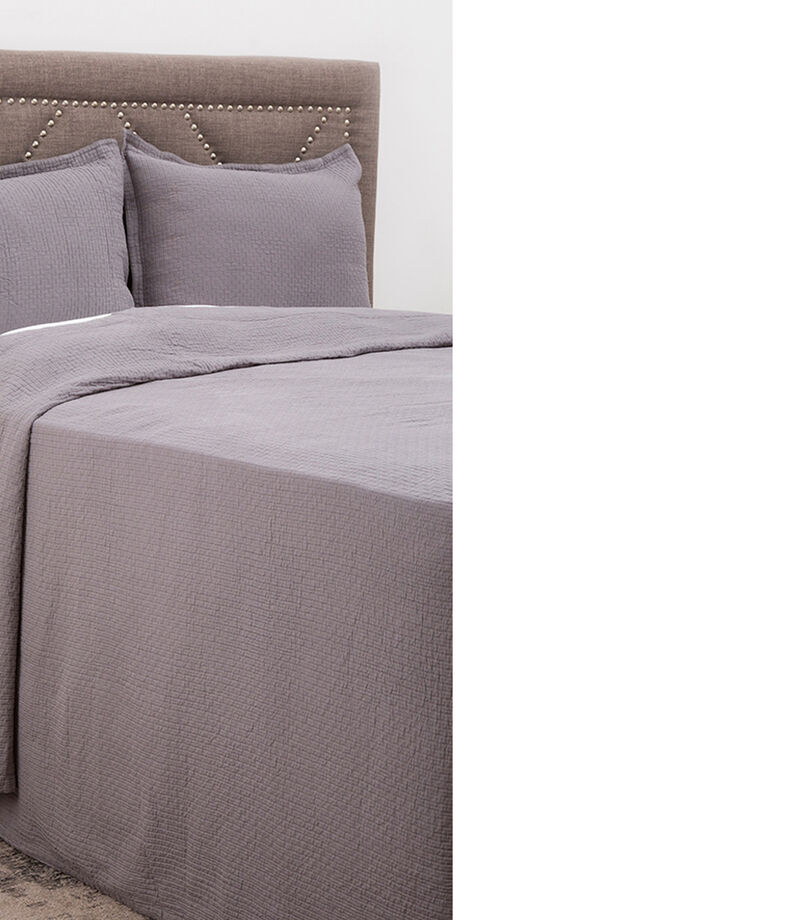Colcha King Size Coverlet Gris, , editorial
