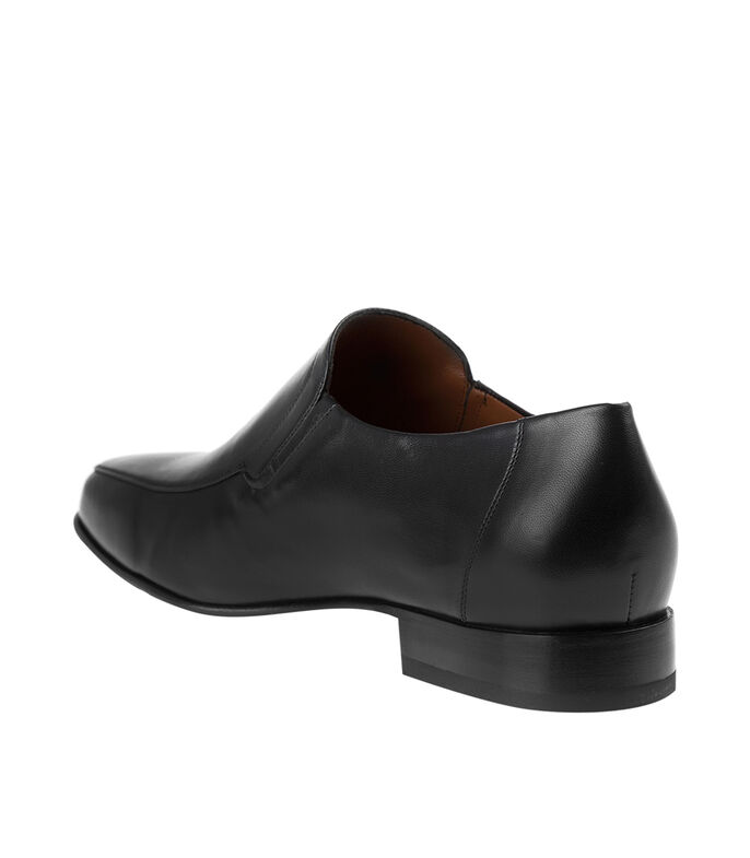 Zapatos casuales Slip On Hombre, NEGRO, large