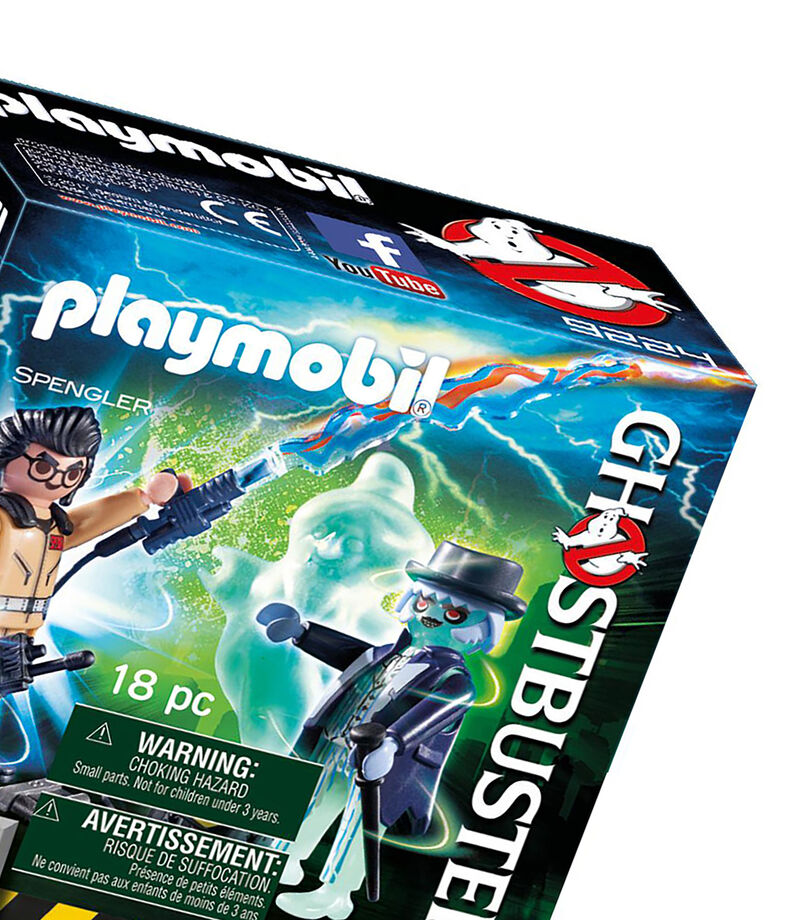 Playmobil Spengler y Fantasma Ghostbusters, , editorial
