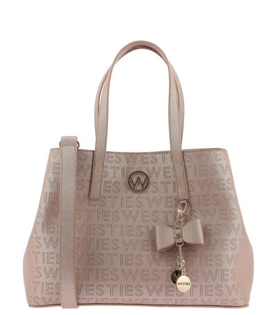 Bolso satchel en monogram, , large