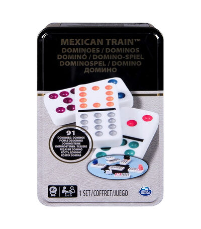 Mexican Train Dominoes, , large