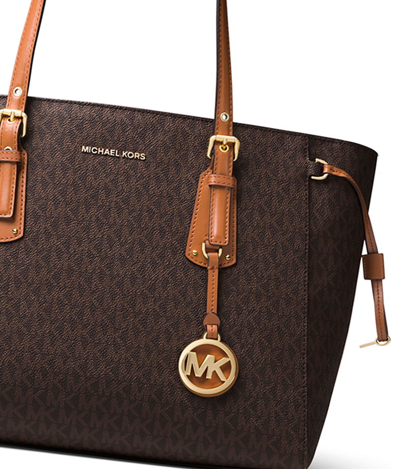 Bolso tote con monogram, CAFE, editorial