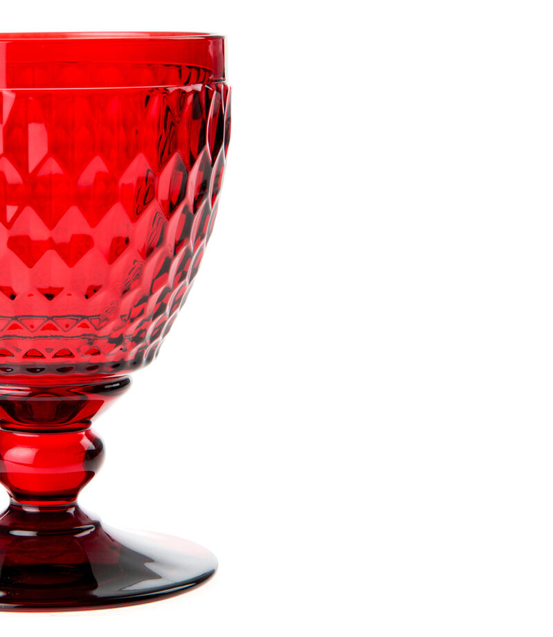 Villeroy & Boch Copa para agua Boston Color rojo, , editorial