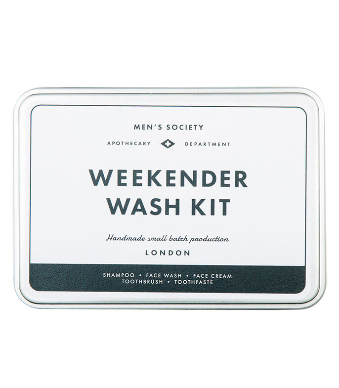 Set Weekender Wash Kit Hombre, , large
