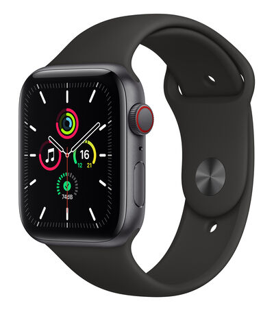 Apple Apple Watch SE, 44 mm Gris Espacial, , large