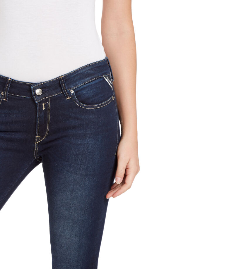 Replay Jeans Skinny Mujer, AZUL, editorial