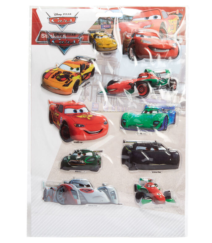Stickers 3D Cars, , large