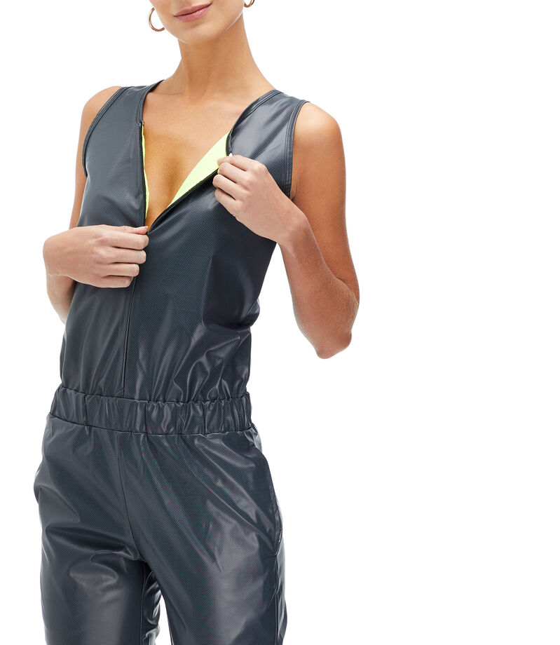The Mashup Jumpsuit Deportivo Mujer, NEGRO, editorial