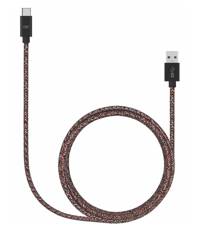 Cable Usb-C Rojo, , large