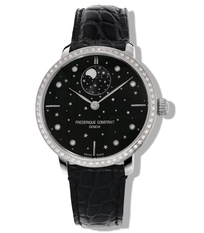 Frederique Constant Reloj Moon Phase Manufactura Mujer, , large