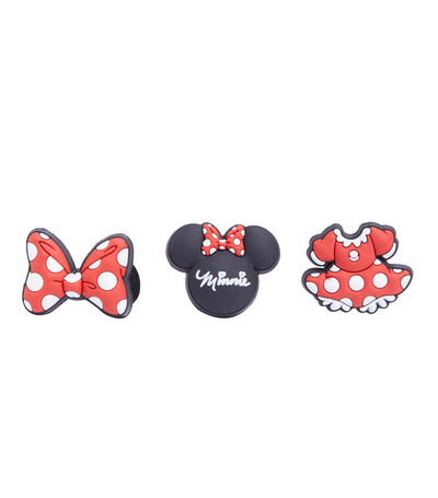 Set 3 Pines Jibbitz Minnie Mouse, , large