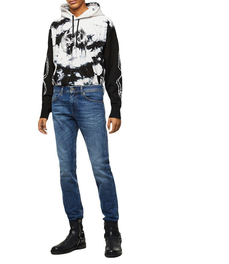 Jeans Thommer Slim Fit Hombre, AZUL, editorial