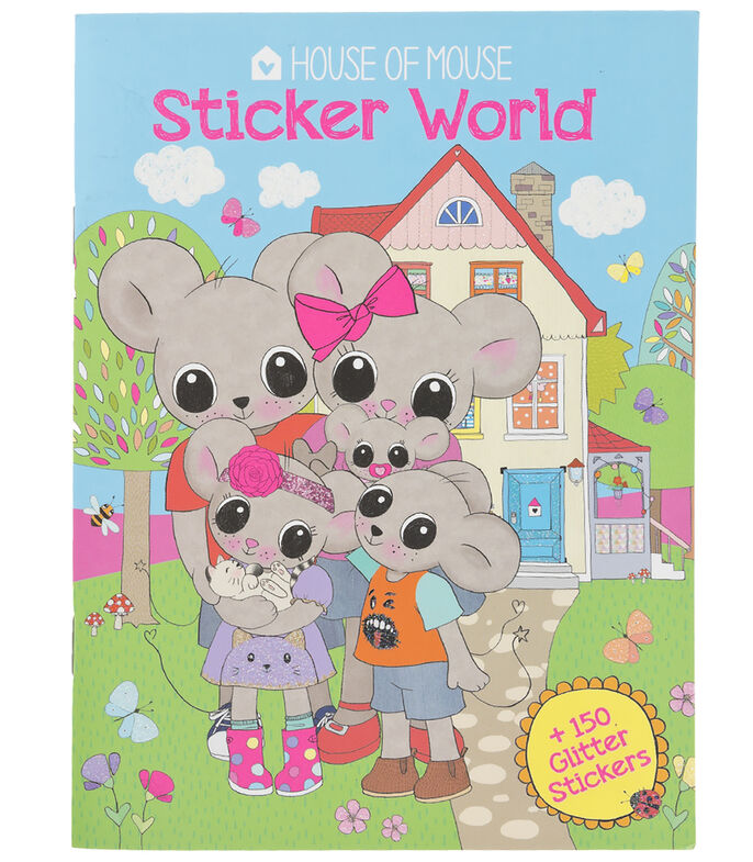 Mi Piace Libro con Stickers House Of Mouse, , large
