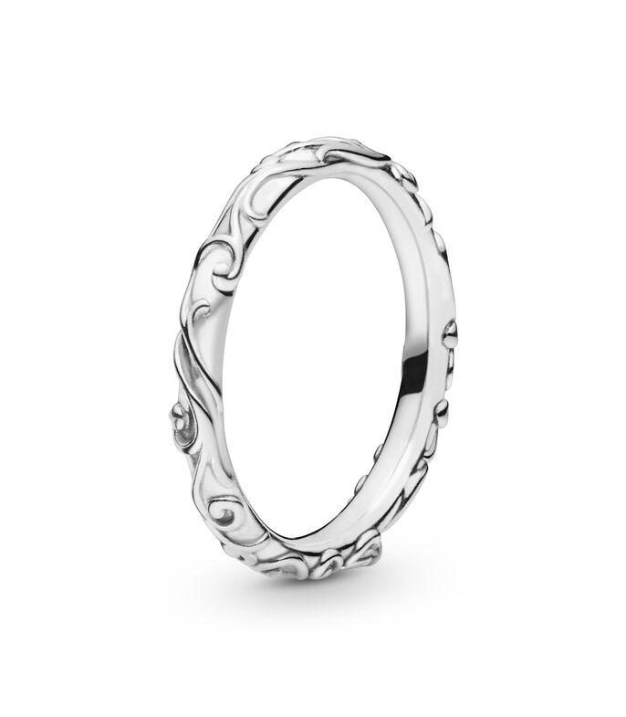 Anillo en plata Regal Band Unisex, , large