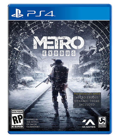 Metro Exodus PS4, , large