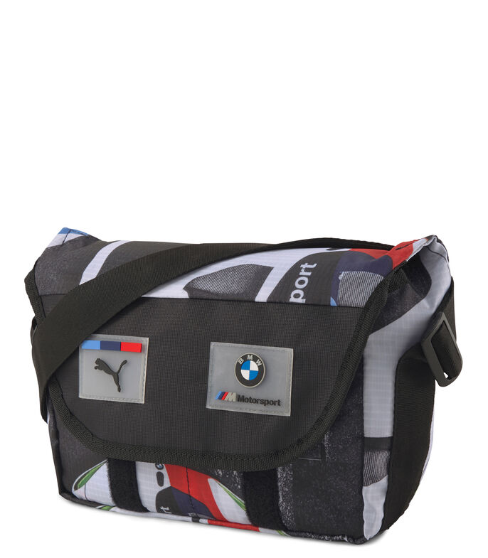 Bolso BMW M Motorsport Street Hombre, NEGRO, large