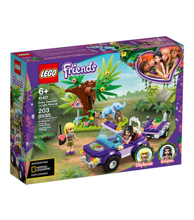 Lego Friends, Baby Elephant Jungle Rescue, , large