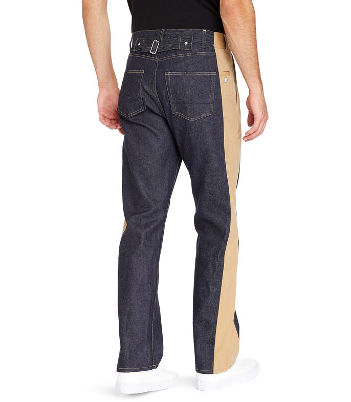 Jeans recto Hombre, AZUL, large