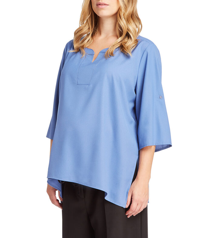 Expecting Essentials Blusa manga 7/8 Mujer, , large