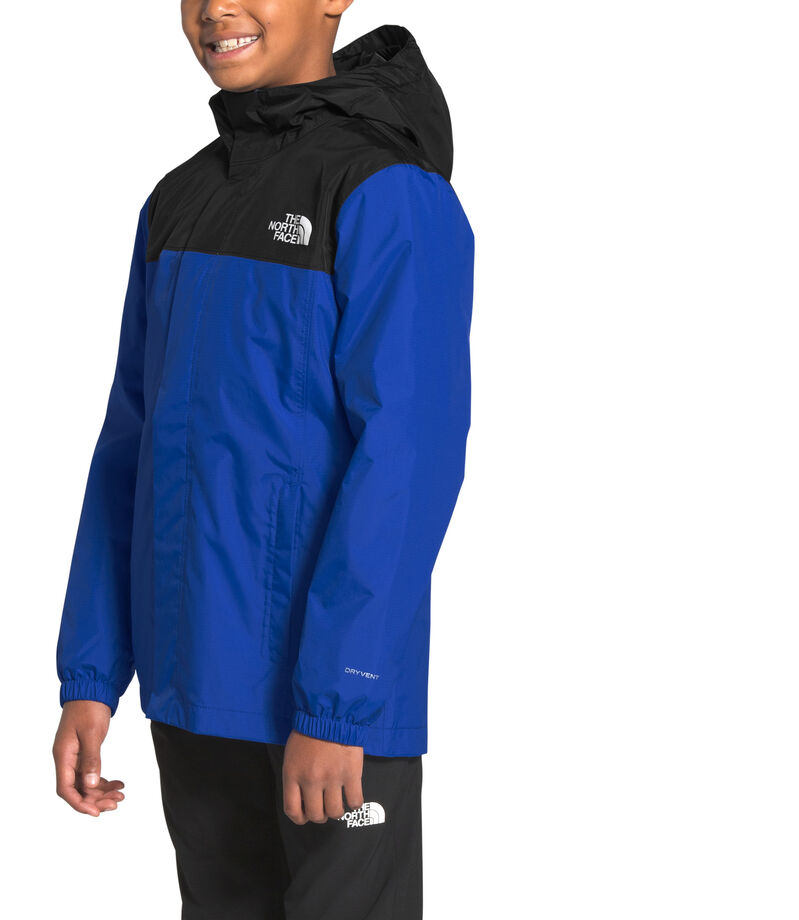The North Face Chamarra Impermeable con Capucha Niño, AZUL, editorial