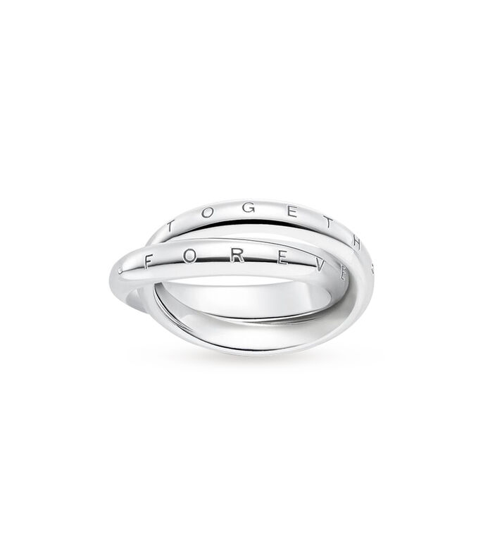 Thomas Sabo Anillo en Plata Forever Together Mujer, , large