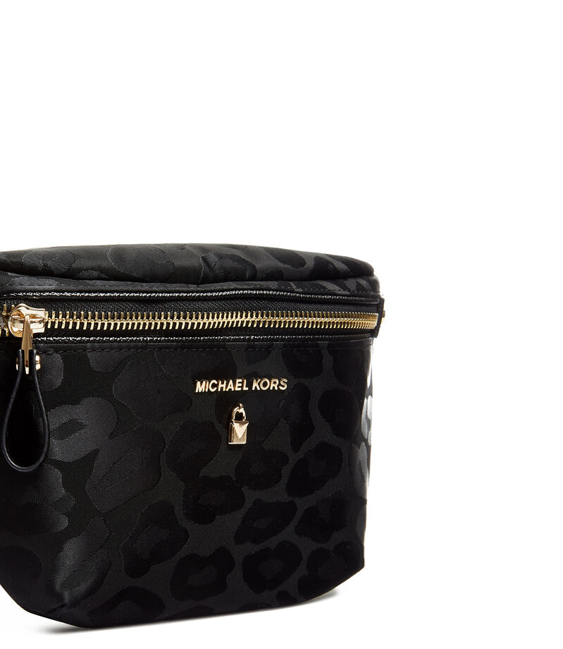 Michael Michael Kors Bolso cangurera con animal print, MULTICOLOR, editorial