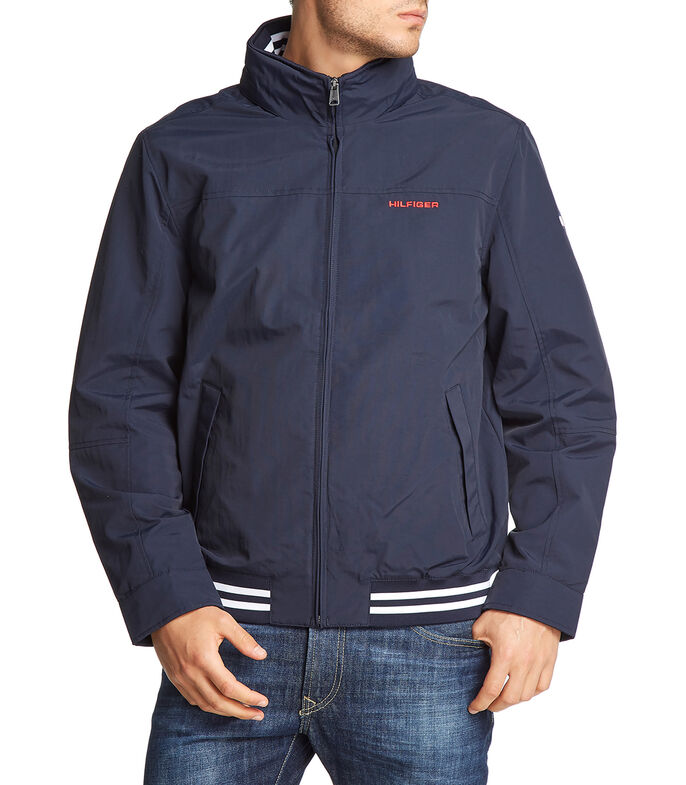 Tommy Hilfiger Chamarra Hombre, AZUL, large
