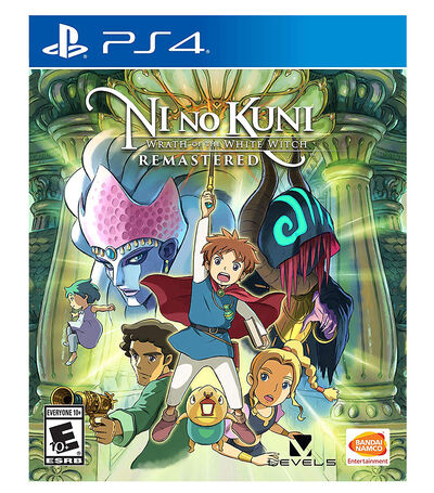 Ni No Kuni Wrath of the White Witch Remastered PS4, , large