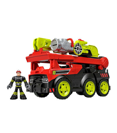 Fisher-Price Camión Transformable Rescue Héroes, , large