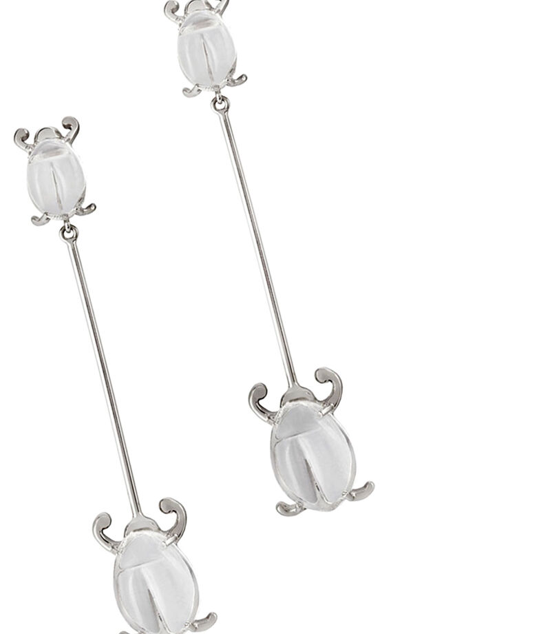 Aretes en plata Aire Mujer, , editorial