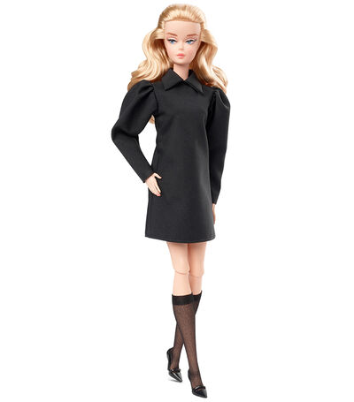 Barbie Best in Black Mini Black Dress, , large
