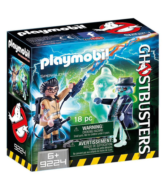 Playmobil Spengler y Fantasma Ghostbusters, , large