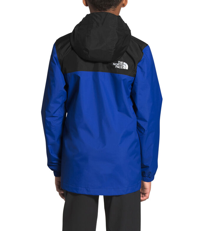 The North Face Chamarra Impermeable con Capucha Niño, AZUL, large