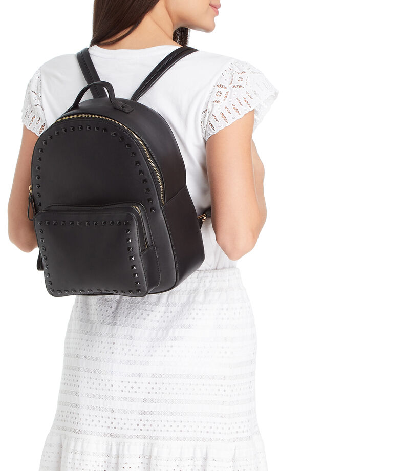 Springfield Bolso backpack, NEGRO, editorial