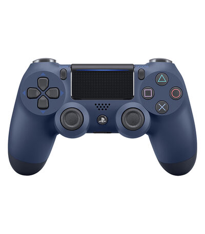Control inalámbrico Dualshock Midnight Blue PS4, , large