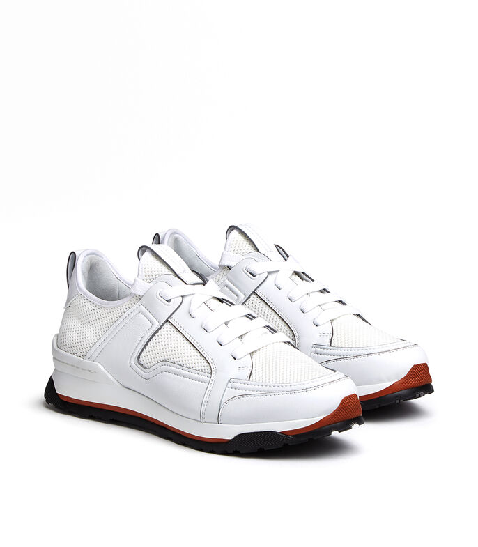 Tenis Siracusa Hombre, BLANCO, large