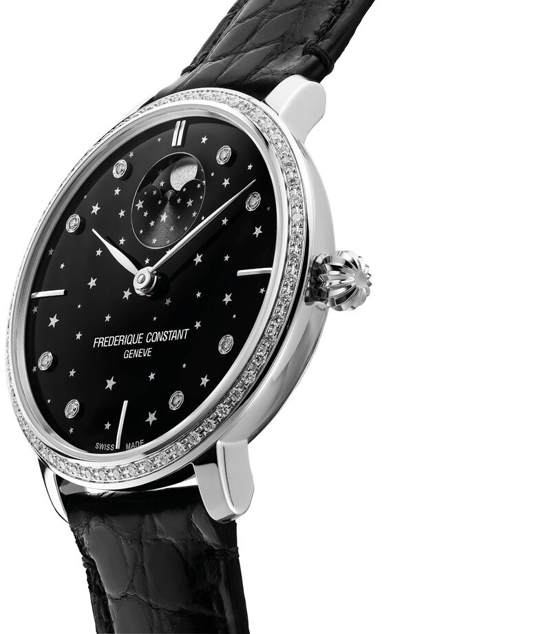 Frederique Constant Reloj Moon Phase Manufactura Mujer, , editorial