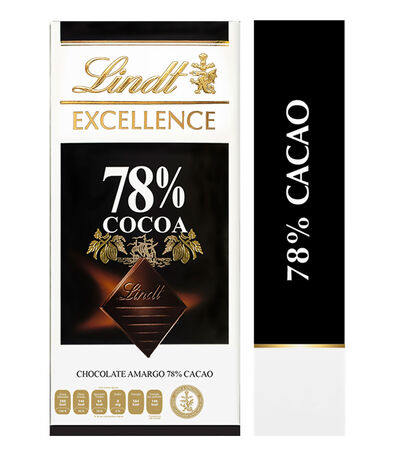 Barra de chocolate amargo Excellence 78% Cacao, 100 gr, , large