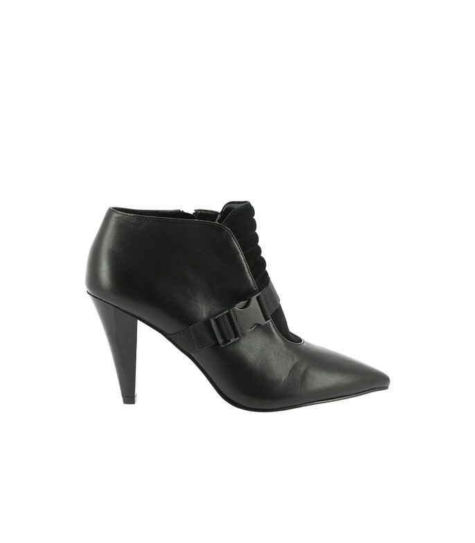 Kendall + Kylie Botines con tacón alto Mujer, NEGRO, large
