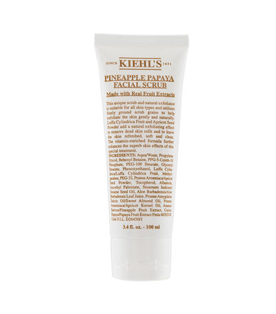 Exfoliante natural, Pineapple Papaya Facial Scrub, 100 ml, , large
