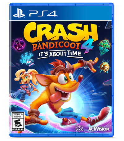 Crash Bandicoot 4: It's About Time PS4, , large