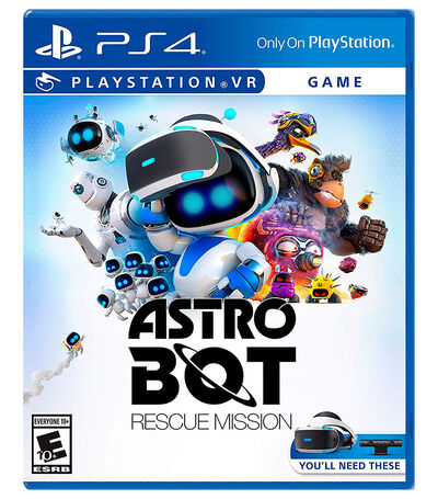 Astro Bot Rescue Mission PS4, , large