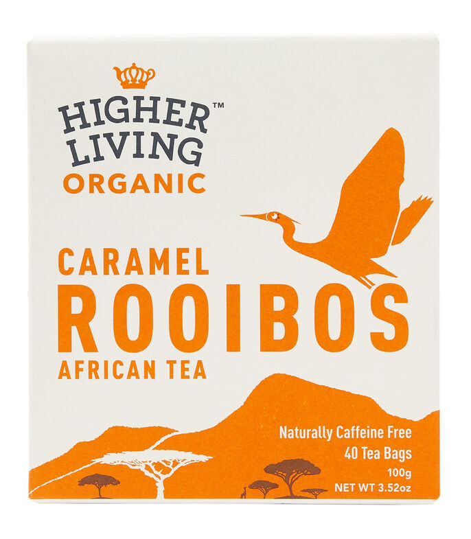 Higher Living Té Rooibos Caramel, 100 g, , large
