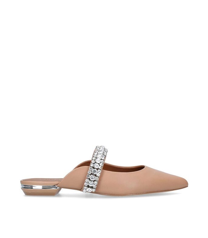 Kurt Geiger Zapatos con tacón bajo slip on Mujer, BEIGE, large