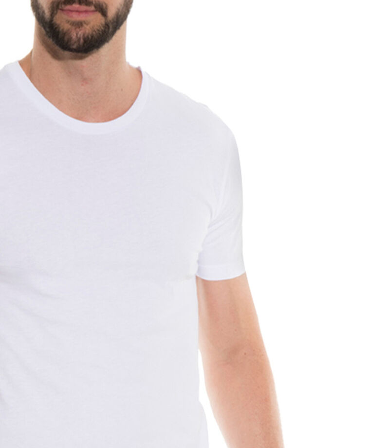 Set 3 Playeras Hombre, BLANCO, editorial